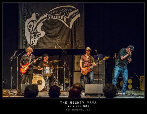 The Mighty Ya-Ya, RK Blues 2015