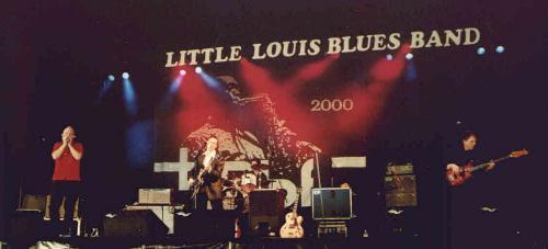The Little Louis Bluesband - BRBF Peer 2000