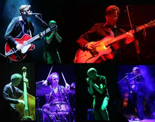 Little Louis Band - Nieuwe Nor Heerlen 2007. Photos: Wil Wijnhoven