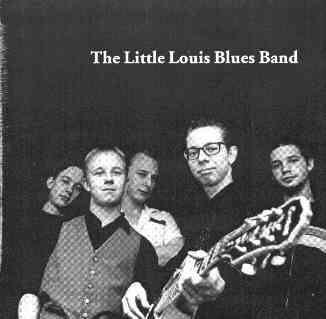 The Little Louis Bluesband CD cover 1998